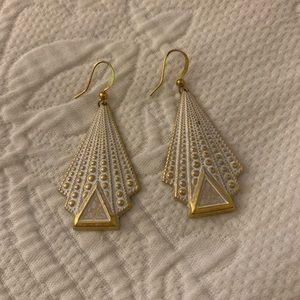 Gold Artisan Earrings